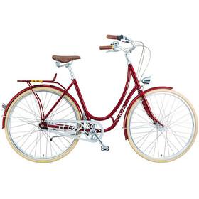 Viva Bikes Emilia Classic Femme, dark red